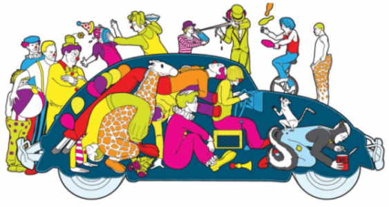 clowns-getting-out-of-car