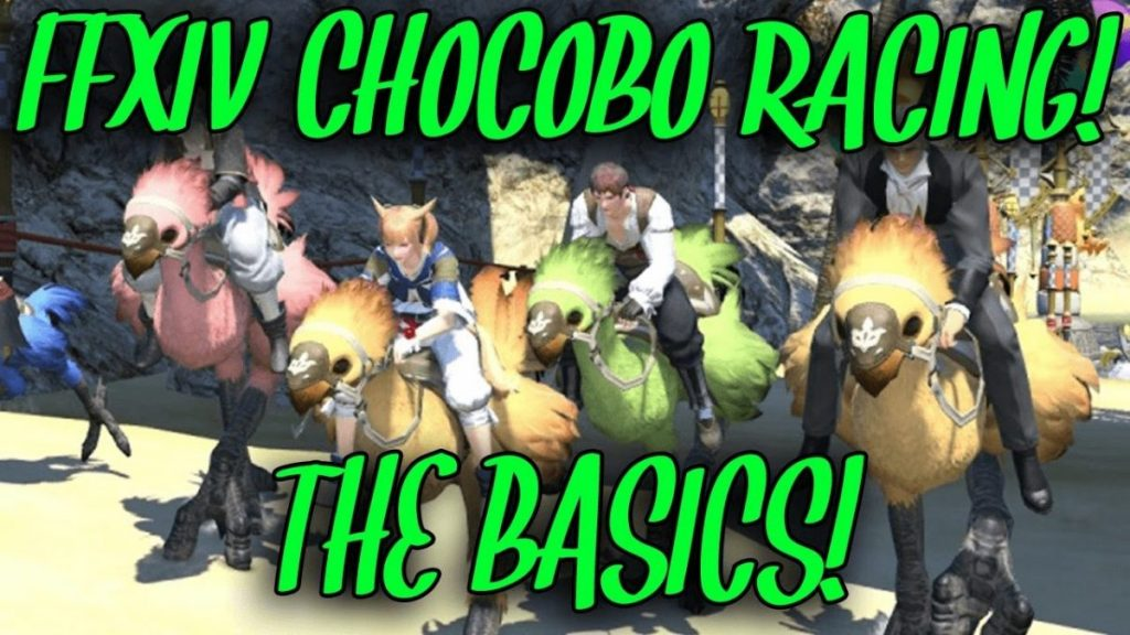 Chocobo Challenge FFXIV