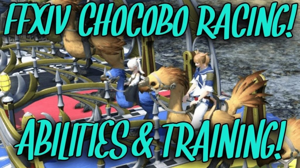 Chocobo Racing Abilities