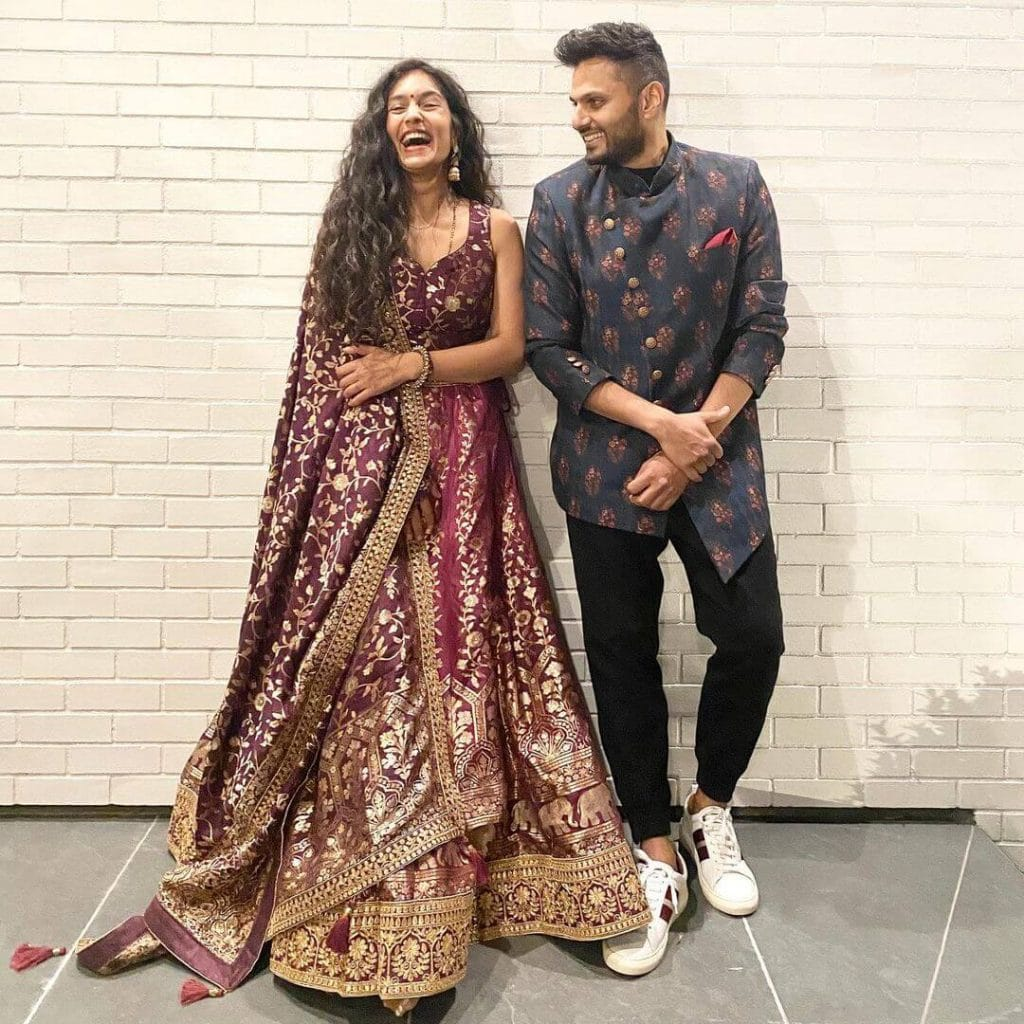 Jay Shetty and wife
