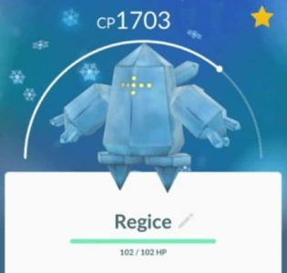 regice best movesets