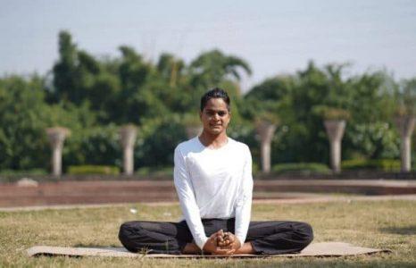 Baddha Konasana yoga