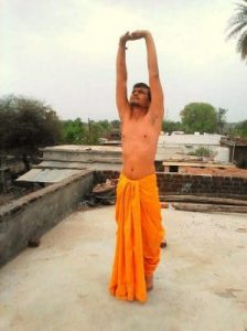 Tadasana yoga pose