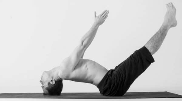 Uttanapadasana yoga