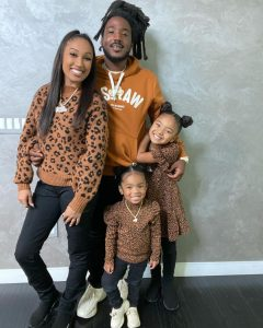 mozzy with wife and his daughters